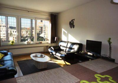 Salon rue Sainte Marie dans un appartement à Liège