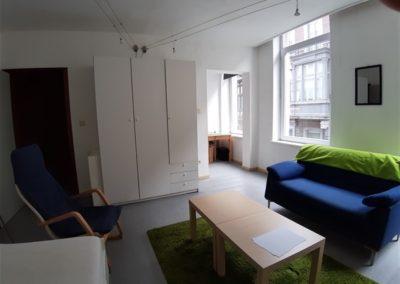 studio meublé à Liège